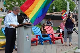 """Kanada není Polsko. Namísto """"LGBT free zón"""" se naopak celá deklaruje jako homophobic free"""